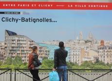 Signalétique chantier Clichy-Batignolles