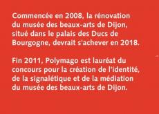 l&#039;histoire du projet du musée <br>des beaux-arts de Dijon