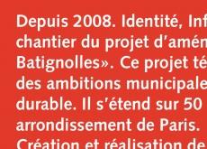l'histoire du projet de Clichy-Batignolles